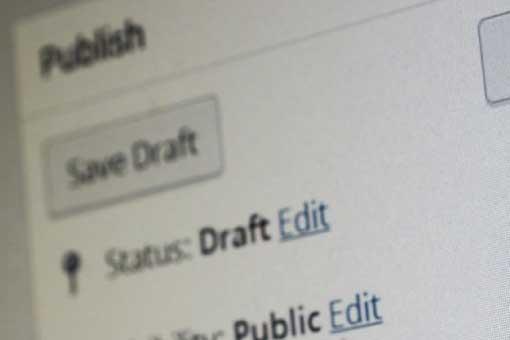 WordPress publish screenshot for WordPress tags blog post at AIM