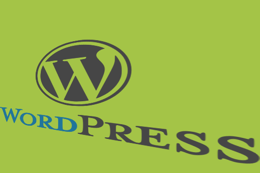 WordPress logo with perspective for WordPress SEO post by AIM