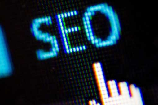 Finger clicking on SEO for Boost SEO post