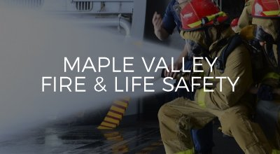 Maple Valley Fire & Life Safety link to case study website development by AIM