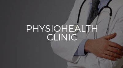 PhysioHealth website and brand identity created by AIM