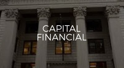 Capital Financial web design by AIM