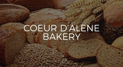 Couer d'Alene Bakery website developed by AIM