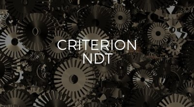 Criterion NDT website development by AIM