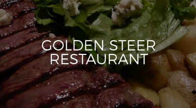 Golden Steer Restaurant web design by AIM