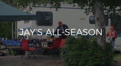 Jays All-Season web design by AIM