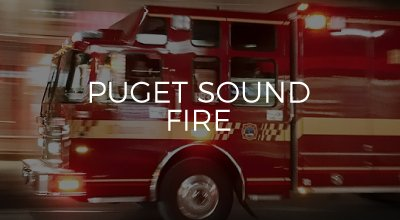 Puget Sound Fire website design by AIM