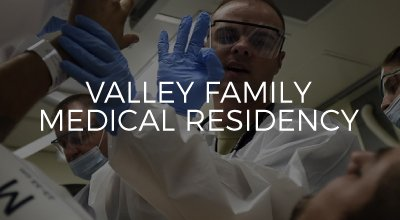 Valley Family Medicine Residency website developed by AIM