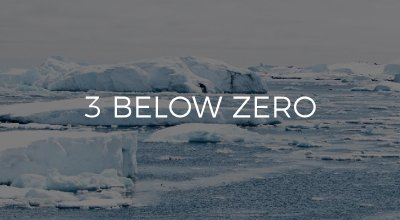 3 Below Zero website development by AIM